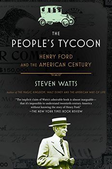 The People's Tycoon book cover