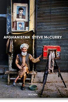 Steve McCurry. Afghanistan book cover