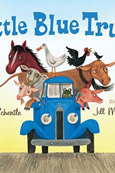 Little Blue Truck book cover