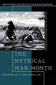 The Mythical Man-Month book cover