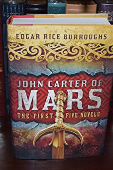 John Carter of Mars book cover