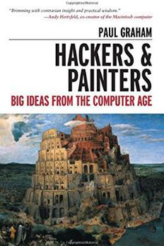 Hackers and Painters book cover