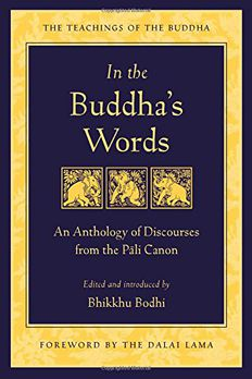In the Buddha's Words book cover