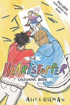 The Heartstopper Colouring Book book cover