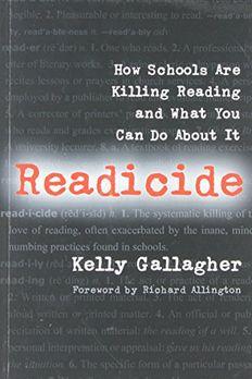 Readicide book cover