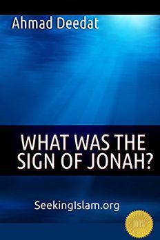What Was The Sign Of Jonah? book cover