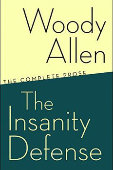 The Insanity Defense book cover
