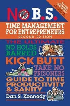 No B.S. Time Management for Entrepreneurs book cover