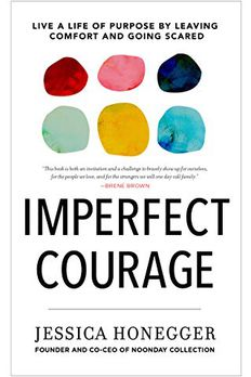 Imperfect Courage book cover