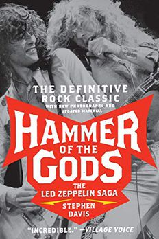 Hammer of the Gods book cover