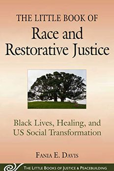 The Little Book of Race and Restorative Justice book cover