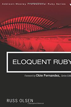 Eloquent Ruby book cover