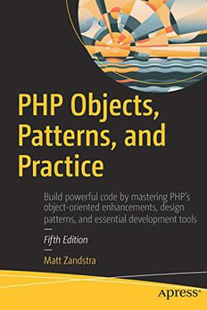 PHP Objects, Patterns, and Practice book cover
