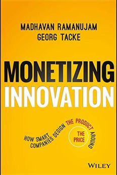 Monetizing Innovation book cover