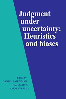 Judgment Under Uncertainty book cover