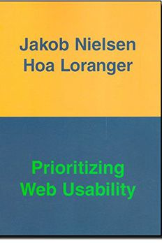 Prioritizing Web Usability book cover