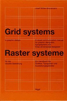 Grid systems in graphic design book cover