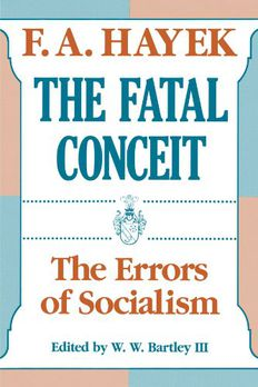 The Fatal Conceit book cover