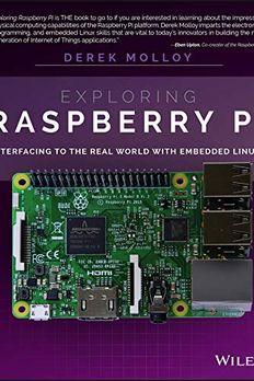 Exploring Raspberry Pi book cover