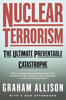 Nuclear Terrorism book cover