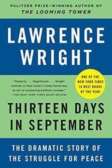 Thirteen Days in September book cover