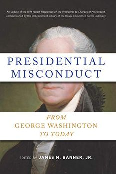 Presidential Misconduct book cover