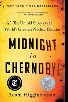 Midnight in Chernobyl book cover