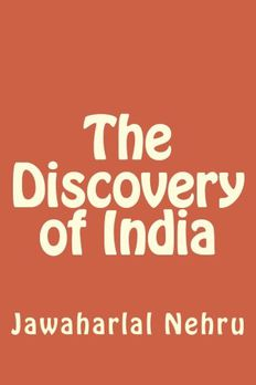 The Discovery of India book cover