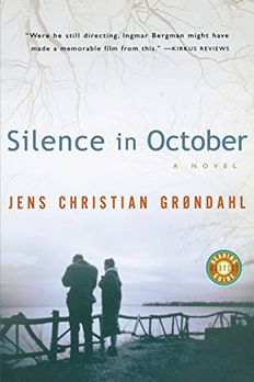 Silence in October book cover