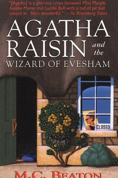 Agatha Raisin and the Wizard of Evesham book cover