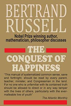 The Conquest of Happiness book cover
