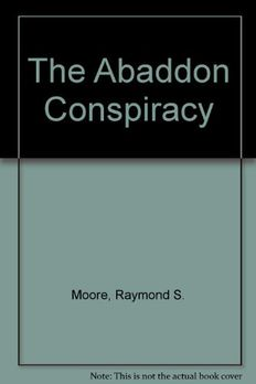The Abaddon Conspiracy book cover