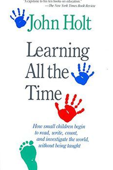 Learning All The Time book cover
