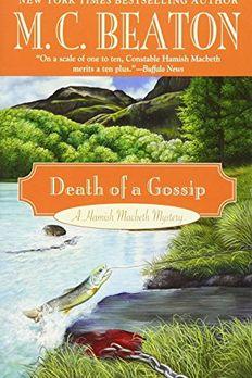 Death of a Gossip book cover