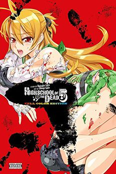 Highschool of the Dead (Color Edition), Vol. 5 book cover
