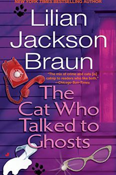 The Cat Who Talked to Ghosts book cover
