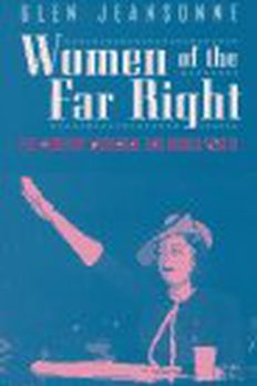 Women of the Far Right book cover