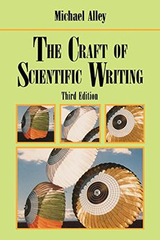 The Craft of Scientific Writing book cover