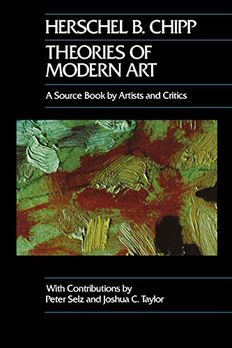 Theories of Modern Art book cover