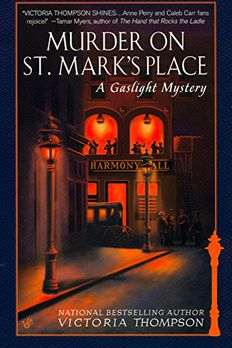Murder on St. Mark's Place book cover