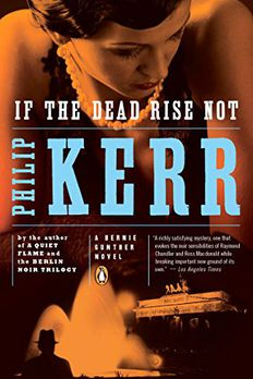 If the Dead Rise Not book cover