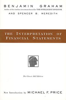 The Interpretation of Financial Statements book cover
