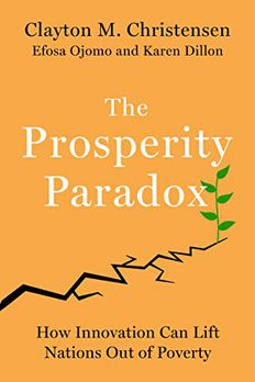 The Prosperity Paradox book cover