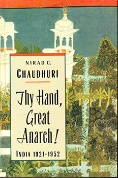 Thy Hand, Great Anarch! India book cover