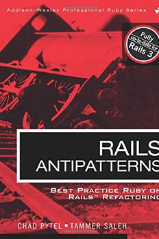 Rails AntiPatterns book cover