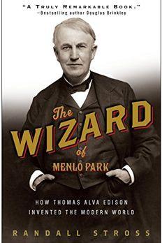 The Wizard of Menlo Park book cover