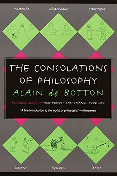 The Consolations of Philosophy book cover