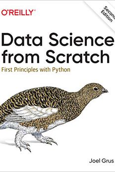 Data Science from Scratch book cover