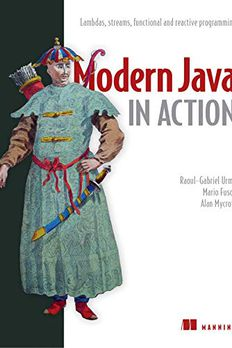 Modern Java in Action book cover