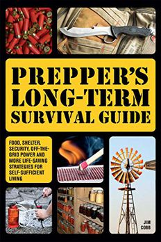 Prepper's Long-Term Survival Guide book cover